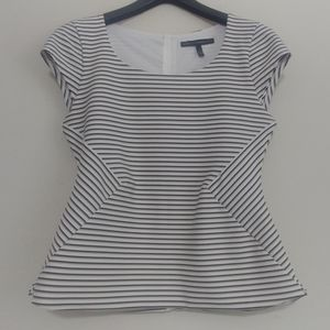 WHBM Striped Top, Sz 4